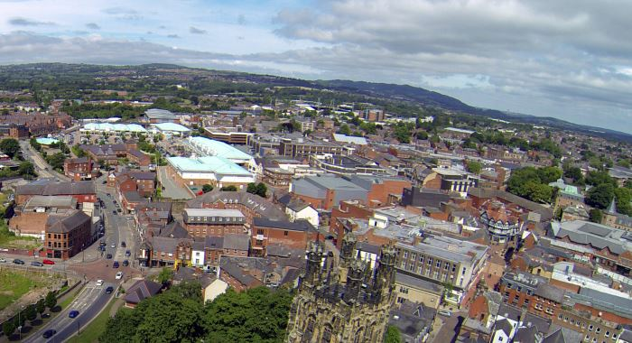 Image 2: Wrexham town (source: wrexham.com)
