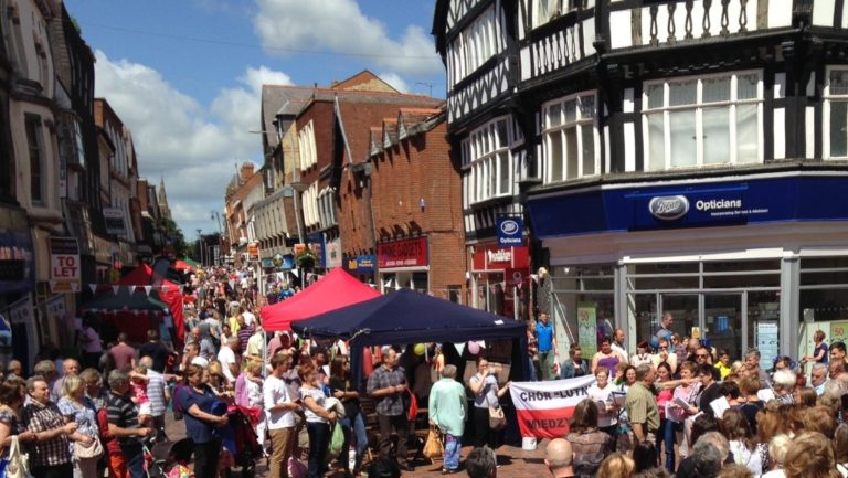 Image 3: Wrexham town food festival (source: Wrexham Matters)