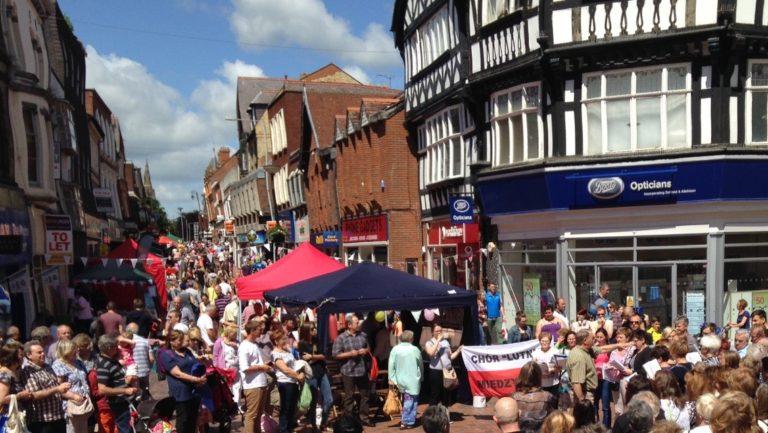 Image 3: Wrexham town food festival (source: Wrexham Matters)