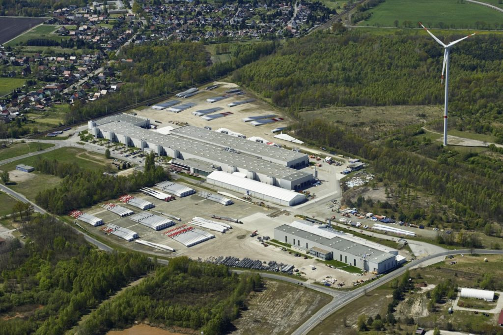 Vestas production site (Photo: City of Lauchhammmer)